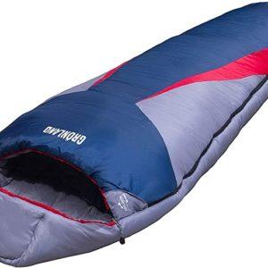 Explorer Schlafsack Großformat 230x82cm GRÖNLAND Mumienschlafsack -23°C