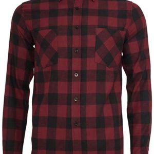 Urban Classics Herren Checked Flanell Shirt Hemd bis 6XL