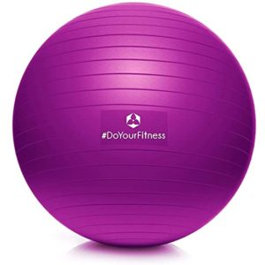 World Fitness Gymnastikball 85cm - Anti Burst Ball bis 150kg