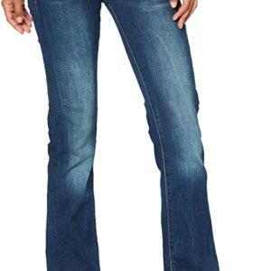 G-STAR RAW Damen Midge Saddle Mid Waist Bootcut Jeans bis zur Länge 36